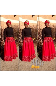 Desimi Maxi Long Skirt