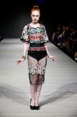 Lace Pencil Skirt & Blouse