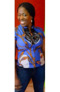 Blouse with Guipure Neck