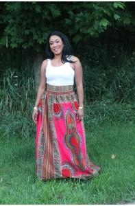 Bisola Dashiki Maxi Skirt